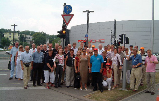 Fabrieksbezoek Stuttgart juni 2003 Evenementen 2003